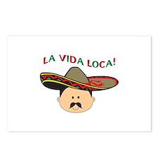 LA VIDA LOCA THE CRAZY LIFE Postcards (Package of