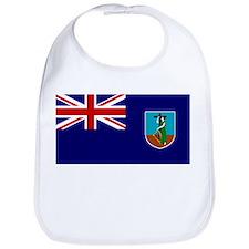 Montserrat Flag Bib