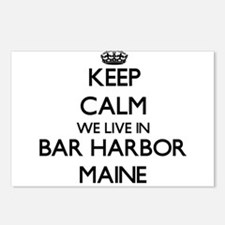 Keep calm we live in Bar Postcards (Package of 8)