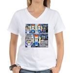 Writers' Party Women's V-Neck T-Shirt