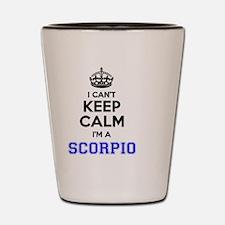 Funny Scorpio Shot Glass