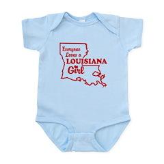louisiana Girl Infant Bodysuit