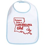 louisiana Girl Bib