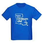 louisiana Girl Kids Dark T-Shirt