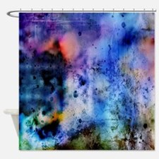 Cool Vivid Shower Curtain