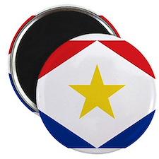 Saba Flag Magnet