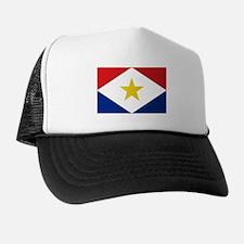 Saba Flag Trucker Hat