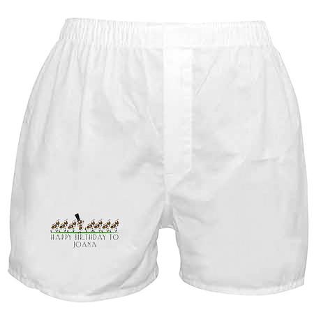 Happy Birthday Joana (ants) Boxer Shorts