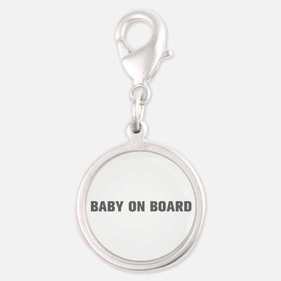 Baby on Board-Akz gray Charms