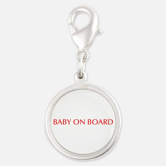 Baby on Board-Opt red Charms