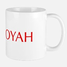 Booyah-Opt red Mugs