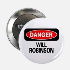 Danger Will Robinson Button