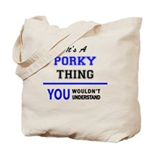 Cute Porky Tote Bag