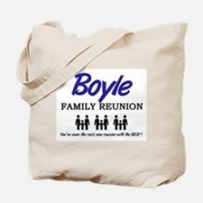 Boyle Family Reunion Tote Bag
