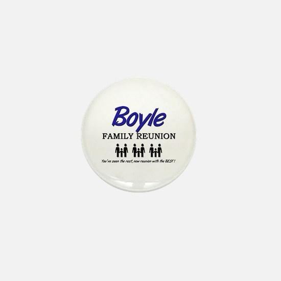 Boyle Family Reunion Mini Button