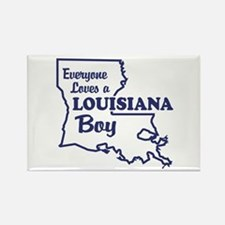 Louisiana Boy Rectangle Magnet