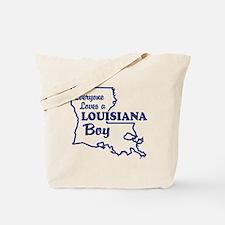Louisiana Boy Tote Bag