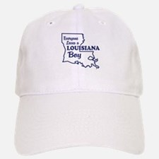 Louisiana Boy Baseball Baseball Cap