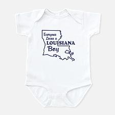 Louisiana Boy Infant Bodysuit