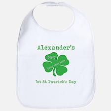 Babys 1st St Patricks Day Baby Bib