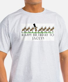 Happy Birthday Jaclyn (ants) T-Shirt