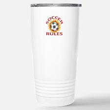 SOCCER RULES Travel Mug