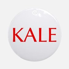Kale-Opt red Ornament (Round)