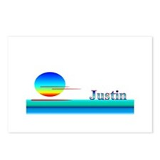 Justin Postcards (Package of 8)