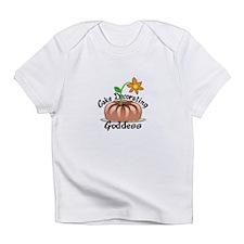 CAKE DECORATING GODDESS Infant T-Shirt