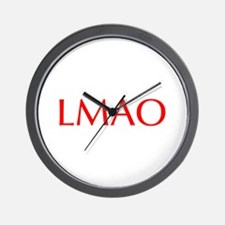 LMAO-Opt red Wall Clock