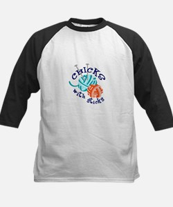 CHICKS WITH STICKS Baseball Jersey