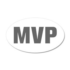 MVP-Akz gray Wall Decal