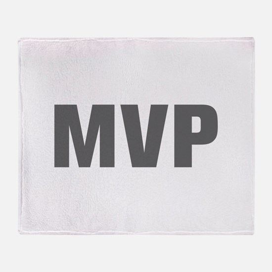 MVP-Akz gray Throw Blanket