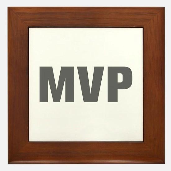 MVP-Akz gray Framed Tile