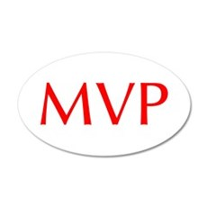 MVP-Opt red Wall Decal