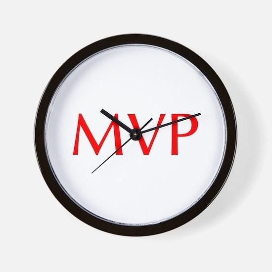 MVP-Opt red Wall Clock