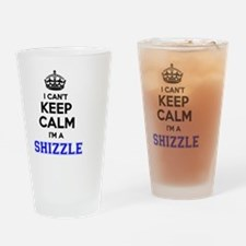 Cute Shizzle Drinking Glass