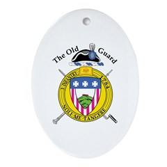 3rd Infantry Oval Ornament