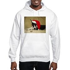 Santa Mantle Great Dane Hoodie