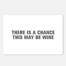 There is a chance this may be wine-Akz gray Postca