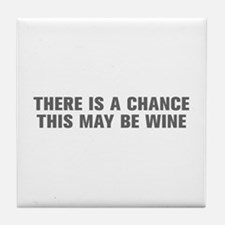 There is a chance this may be wine-Akz gray Tile C