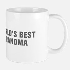 World s Best Grandma-Akz gray Mugs