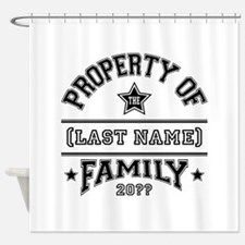 Family Property Shower Curtain