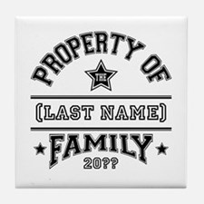 Family Property Tile Coaster