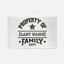 Family Property Rectangle Magnet (10 pack)