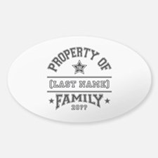 Family Property Decal