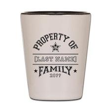 Family Property Shot Glass