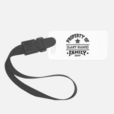 Family Property Luggage Tag