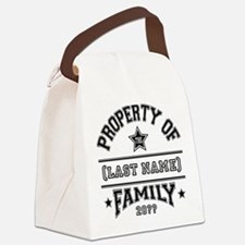 Family Property Canvas Lunch Bag