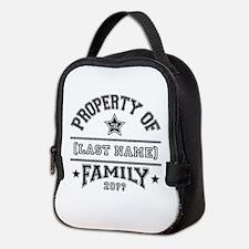 Family Property Neoprene Lunch Bag